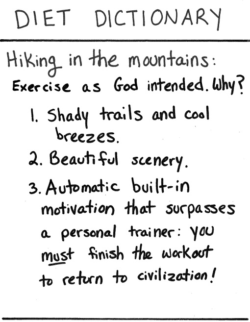 hike words