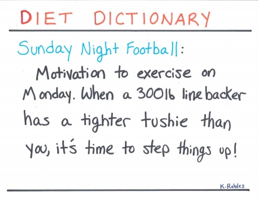 football diet dict
