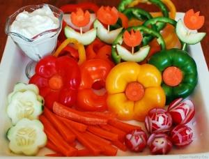 imagesFlower-Tray-CruditsB23Eflower-vegetable-tray
