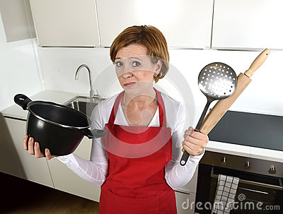 rookie-home-cook-woman-red-apron-home-kitchen-holding-cooking-pan-rolling-pin-sad-stress-confused-helpless-young-62985065