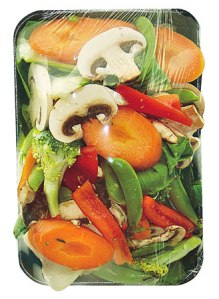 packaged veggies