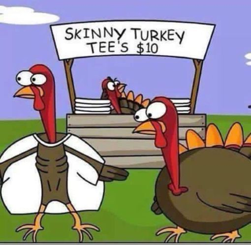 skinny turkey