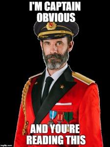 captain obvious imgflip